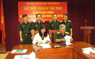 Kết nối Bệnh xá đảo Song Tử Tây với Bệnh viện Trung ương Quân đội 108