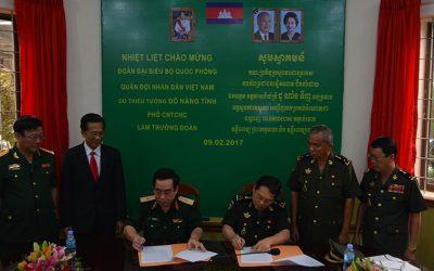 Bộ Quốc phòng Việt Nam chuyển giao hệ thống kết nối y học từ xa cho bệnh viện Campuchia
